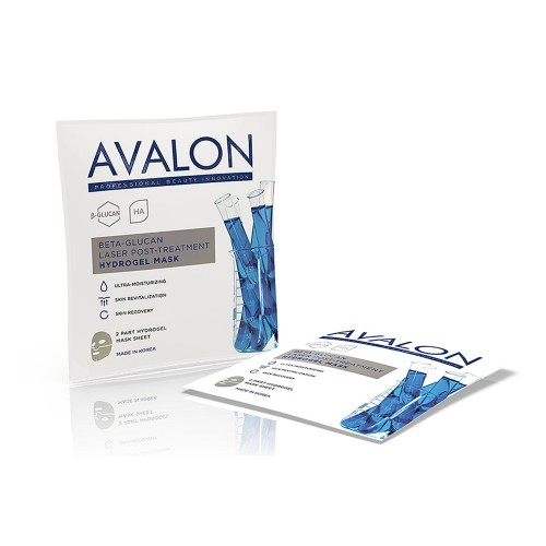 AVALON Beta-Glucan Laser Post-Treatment Hydrogel Mask