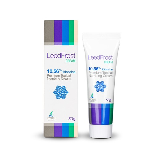 LeedFrost cream 10.56% -  аппликационный крем-анестетик 50 грамм